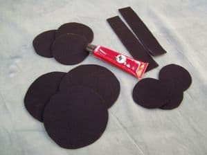 Black Witch Repair Kit, Glue and Neoprene Patches for Repairs to Wetsuits, Drysuits & Fishing Waders