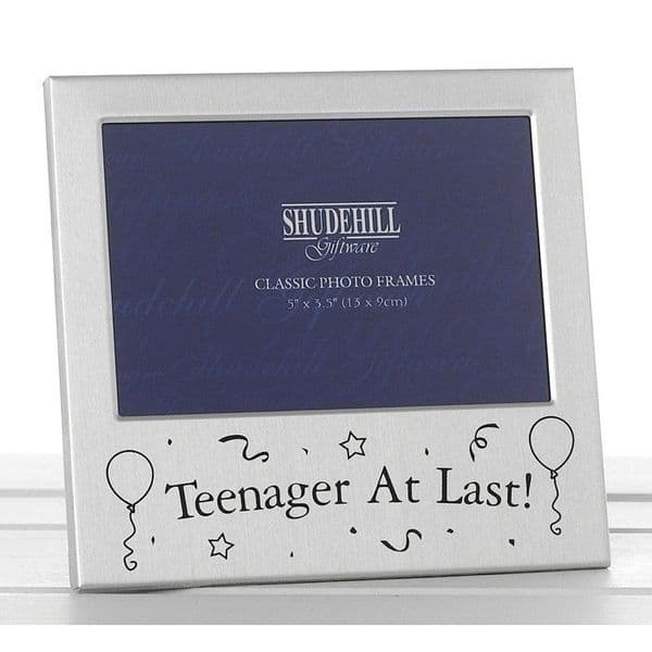 13th Teenager Birthday Photo Frame