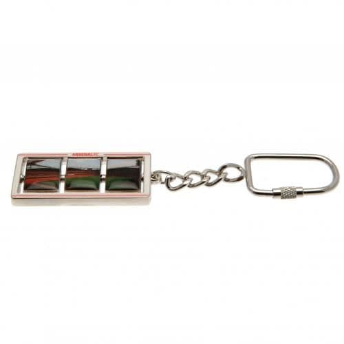 Arsenal FC Spinner Key Ring