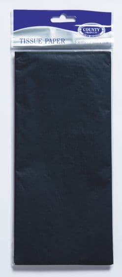 Black Tissue Paper 10 Sheets