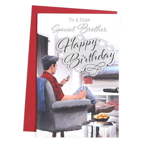Brother Birthday Card 45516