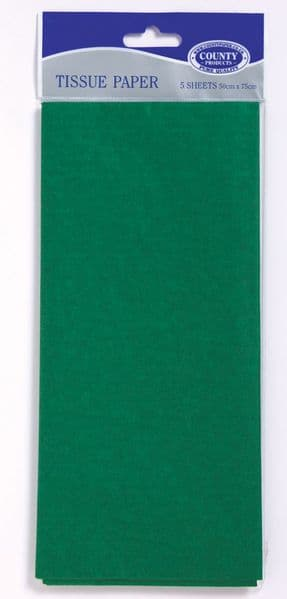Green Tissue Paper 10 Sheets