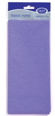 Lilac Tissue Paper 10 Sheets