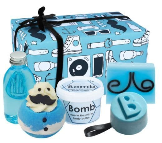 New Age Hipster Male Bath Gift Set