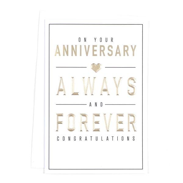 On Your Anniversary Card 75 45578