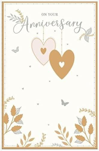 On Your Anniversary Cards 75JJ GIB
