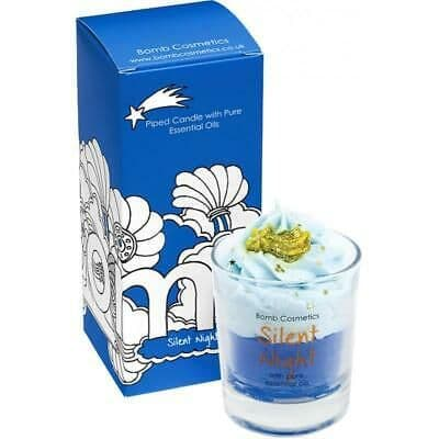 Silent Night Pipped Candle