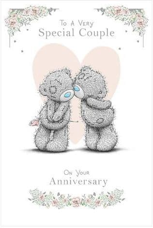 Special Couple Anniversary Card Me To You NN125