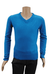 Wholesale  Ex High St Boys Long Sleeve V Neck Jumper Turquoise