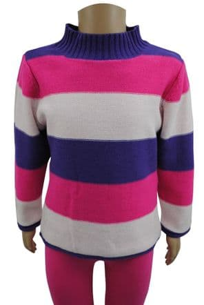 Wholesale Girls Jumpers & Cardigans - Wholesale Ex Chainstore Girls High Neck Long Sleeve Jumper   - Girls Wholesale Clothing - iFashionWholesale.com - Specialist in Ex Chainstore Wholesale Clothing.