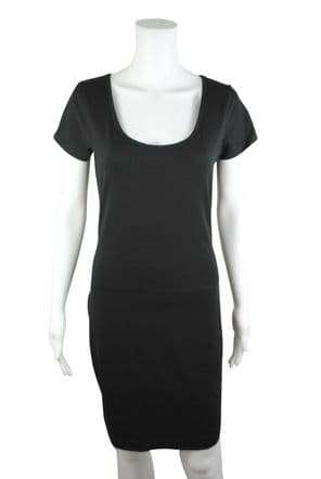 Wholesale Womens Dresses - Wholesale Womens B.C Long Dress BodyCon Jersey STRETCH Black