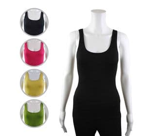 Wholesale Womens Vests & Camisoles - Wholesale Womens Ex Chainstore Vest Tank Top Ribbed Mo - iFashionWholesale.com - Specialist in Ex Chainstore Wholesale Clothing.