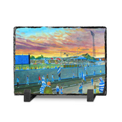 cappielow  going to the match slate print