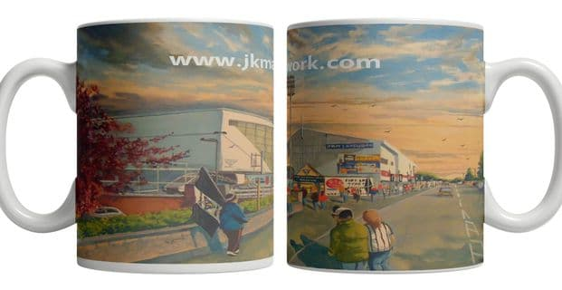 east end park going to the match mug