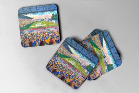 field mill Coaster set of four
