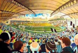 Hand Painted original of st mirren park