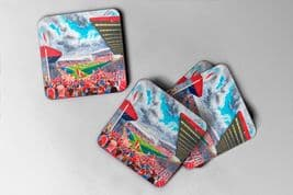 pittodrie Coaster set of four