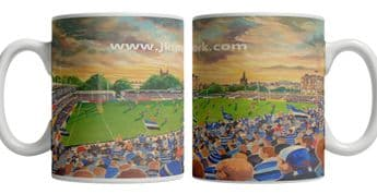 recreation ground on matchday mug