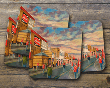 the willows gtm  Coaster set of four