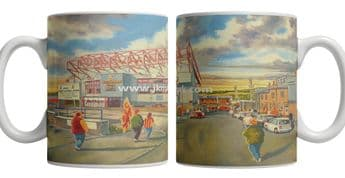 Valley parade going to the match mug