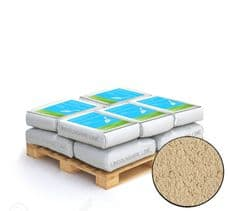 Lime Green Buff Coloured Natural Hydraulic Lime Mortar NHL 3.5 10 x 25kg