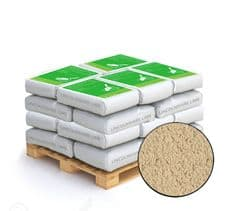 Lime Green Buff Coloured Natural Hydraulic Lime Mortar NHL 5 20 X 25KG