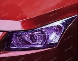 30 x 50cm PURPLE Headlight Tint Film Fog Tail Lights Tinting Wrap2 DAY DELIVERY