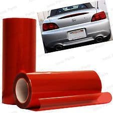 30 x 50cm RED Headlight Tint Film Fog Tail Lights Tinting Wrap,2 DAY DELIVERY
