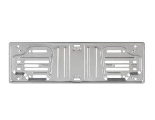 Aluminium Number Plate Holder Surround Personalised Plate - Small Number Plate