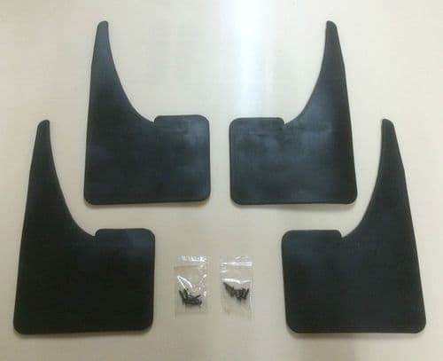 AUDI MUDFLAPS UNIVERSAL FIT WITH FITTINGS