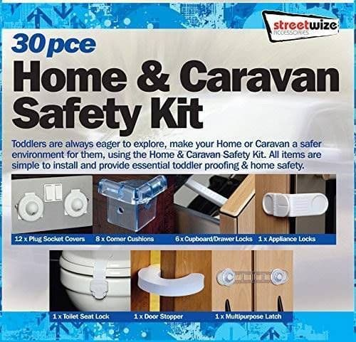 Caravan Safety kit 30pcs / Child Safety Kit - Door Socket Covers Locks & Guards