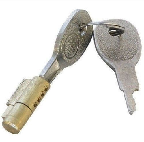 Key Heavy Duty Caravan & Trailer Coupling Towing Security Hitch Lock And 2 Keys