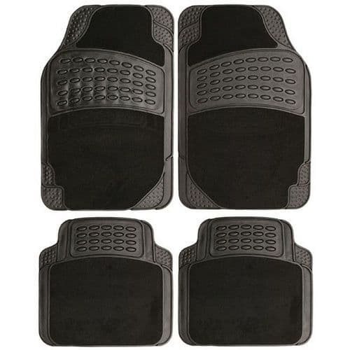 Set of mudflaps and set of car mats, top quality set, heavy duty , free postage