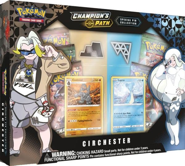 Pokemon Champion's Path Special Pin Collection - Circhester Gym