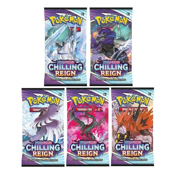 Pokemon Chilling Reign Booster Pack
