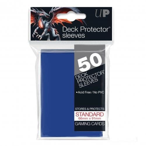 Ultra PRO Blue Standard Deck Protector Sleeves (50)