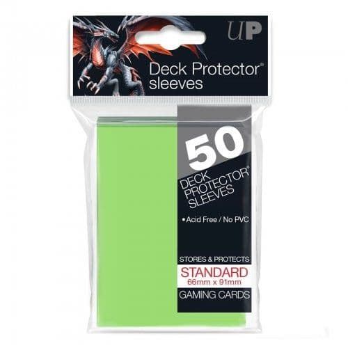 Ultra PRO Lime Green Standard Deck Protector Sleeves (50)