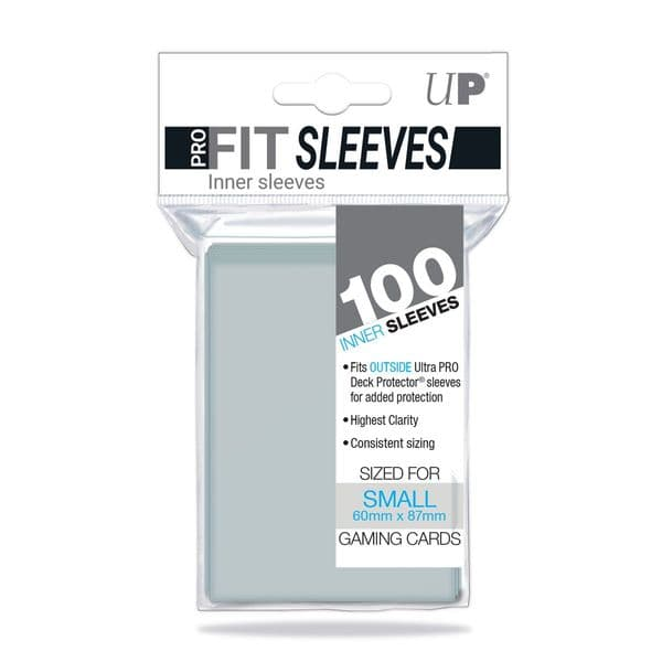 Ultra PRO PRO-FIT Small Topload Card Sleeves (100)