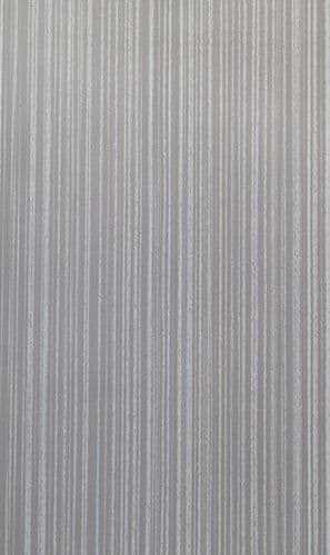 Brushed Silver PVC Wall Panel - Size 2.4m x 1m