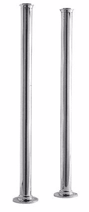 Chrome Tap Stand Pipes