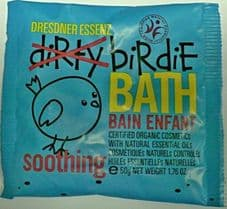 Soothing Blue - Dirtie Birdie Organic Bath Salts - Sachet 50g