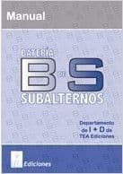 BS. Batería de Subalternos Editorial TEA
