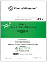 KV ESCALA DE PREFERENCIA VOCACIONAL KUDER. Manual Moderno