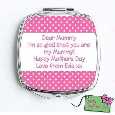 Dotty with text mirror