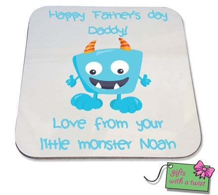 Fathers Day Monster coaster