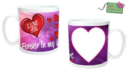 Forever in my heart mug