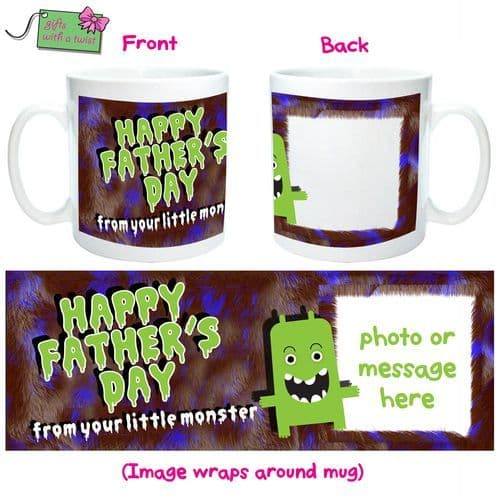 Happy Fathers day monster mug