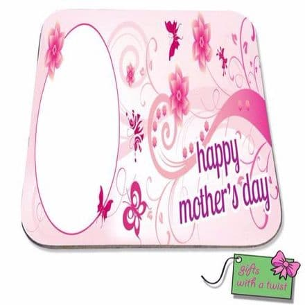 Happy Mothers day swirls coaster