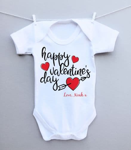 Happy Valentines Day bodysuit