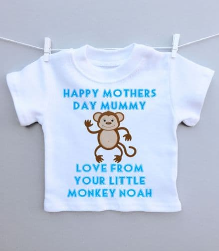 Little monkey Mother's Day t-shirt